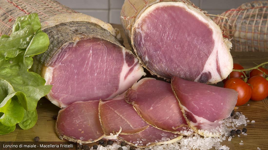 Lonzino di maiale senza conservanti